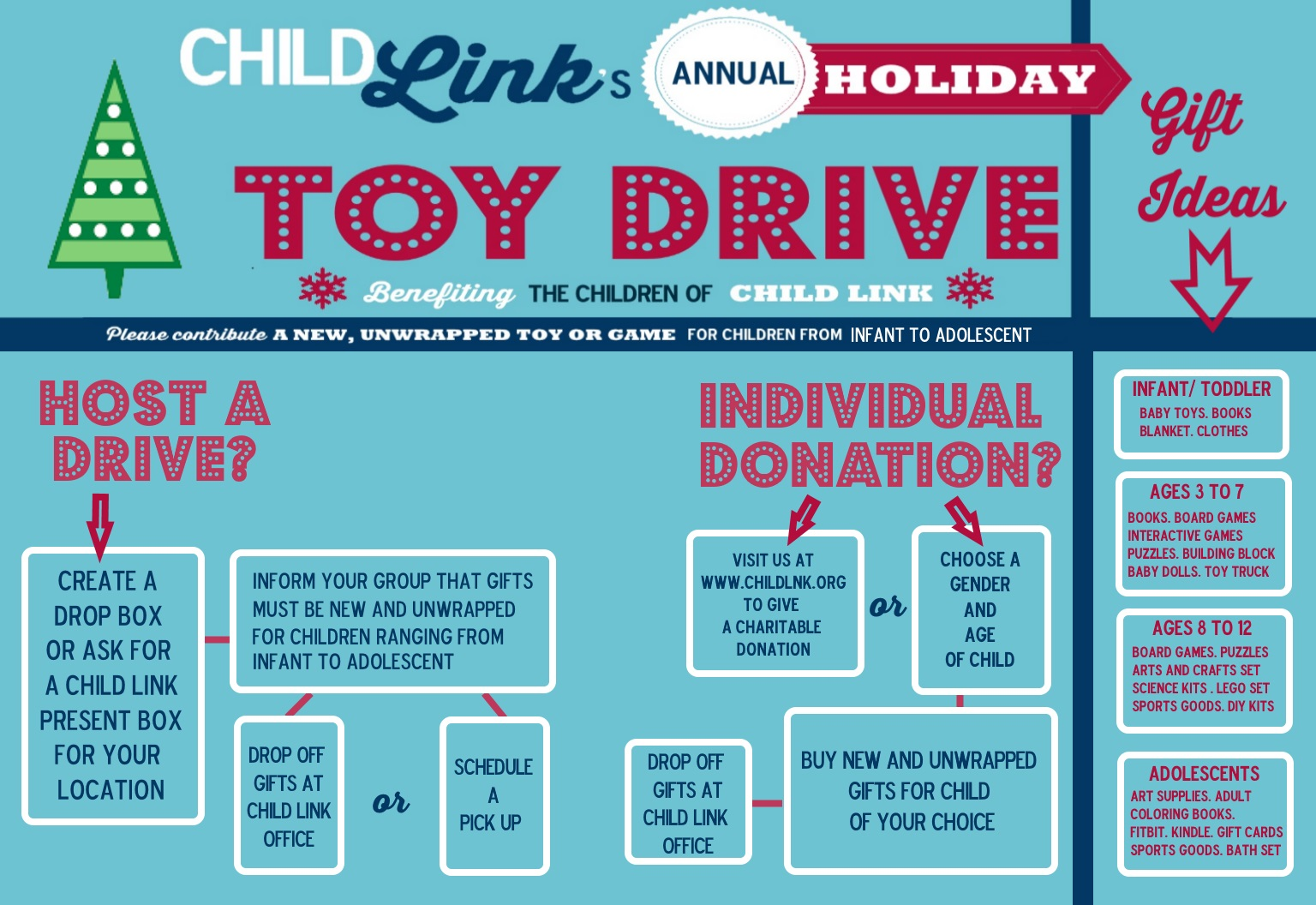 Holiday Gifts Drive for Chicago Foster Children - Donate!